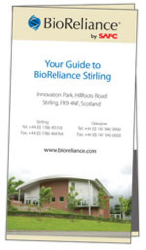 Stirling visitors brochure
